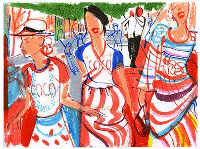 El romance de Chanel y La Habana