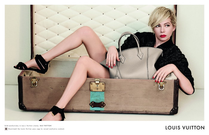 Michelle-Williams-Spring-2014-Louis-Vuitton-Handbag-Campaign